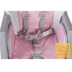 Krzesełko Comfort Basic różowe Sun Baby B03.002.1.1