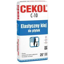 Klej elastyczny do płytek C-10 25 kg CEKOL