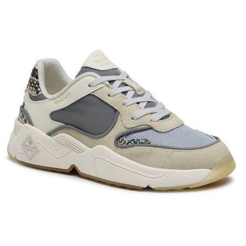 Damskie obuwie sportowe, Sneakersy GANT - Nicewell 22533568 Cream/Grey G217