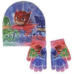 Komplet: czapka jesienna / zimowa i rękawiczki Pidżamersi