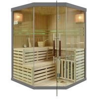 Sauny, Sauna Fińska EA3CGS Sauna Sucha Tradycyjna