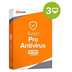 Avast Pro Antivirus 2018 – 1-rok / 3 PC, licencja elektroniczna 32/64 bit