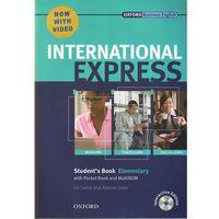 Książki do nauki języka, International Express Elementary SB Pack (DVD-ROM) - Liz Taylor, Adrian Wallwork (opr. broszurowa)