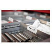 Papiery fotograficzne, DYMO d1 label permanent polyester 12mm black/white