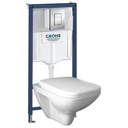 Zestaw podtynkowy WC Grohe Senner z deską wolnoopadającą