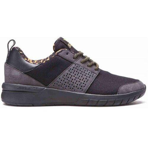 Damskie obuwie sportowe, buty SUPRA - Scissor Black/Tortoise-Black (038) rozmiar: 36.5