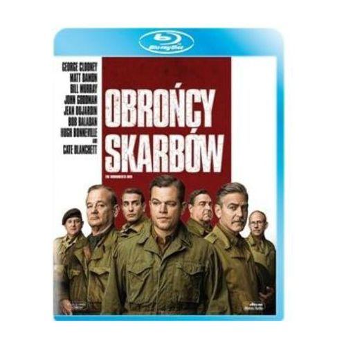 Filmy wojenne, Obrońcy skarbów (Blu-Ray) - George Clooney DARMOWA DOSTAWA KIOSK RUCHU