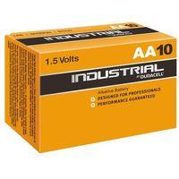 Baterie, 10 x bateria alkaliczna Duracell Industrial LR6 AA