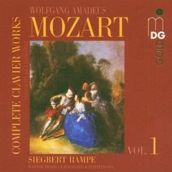 W.A. Mozart - Complete Clavier Works Vo
