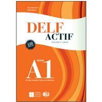 Książki do nauki języka, DELF Actif Scolaire Et Junior A1 Corriges et Transcriptions + CD (opr. miękka)