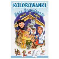 Książki dla dzieci, Kolorowanki. Boże Narodzenie - Kolędy (opr. miękka)