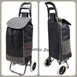 Wózek na Zakupy torba na kółkach SKŁADANY 50litrów