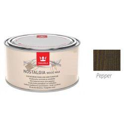 TIKKURILA NOSTALGIA WOOD WAX- wosk do drewna, pepper, 0.225 l