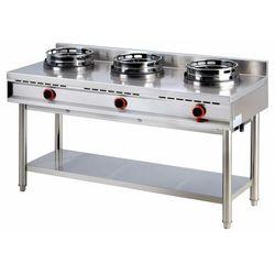 Kuchnia wok | 3x10000W | 1500x600x(H)800mm