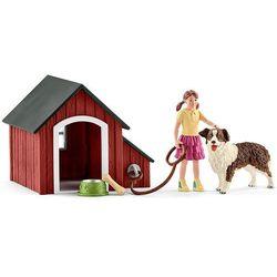 Zestaw Buda dla psa z figurkami 42376 - Schleich