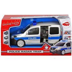 Samochód policyjny SOS z radarem