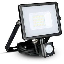 Naświetlacz Halogen Lampa 20W V-TAC LED z czujnikiem