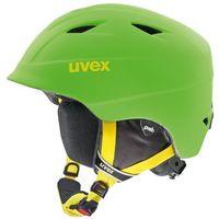 Kaski i gogle, UVEX airwing 2 pro Kask snowboard Dzieci zielony Kaski narciarskie nowe uvex (-20%)