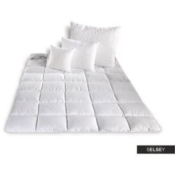 SELSEY Kołdra Micro II z poduszkami 50x60 cm