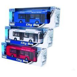 Autobus miejski 1:48 biały