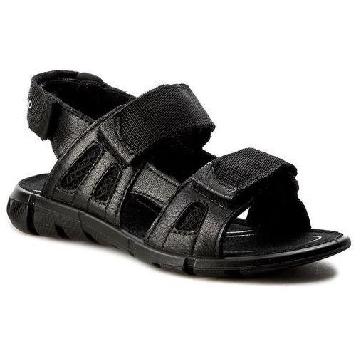 Sandałki dziecięce, Sandały ECCO - Intrinsic Sandal 70555251052 Black/Black