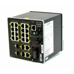 IE-2000-16TC-G-E Switch Cisco IE2000 16 FE Copper, 2GE SFP/T and 2 FE SFP, Lan Base
