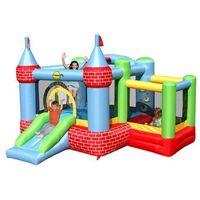 Zabawki dmuchane, Dmuchany Zamek - Happy Hop - z basenem na kulki