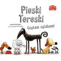 Książki dla dzieci, Pieski Tereski Czytam sylabami (opr. twarda)