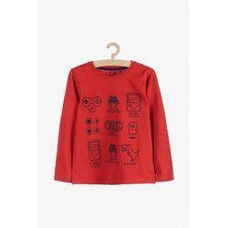 Bluzka chłopięca czerwona 1H3903 Oferta ważna tylko do 2023-08-10