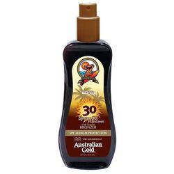Australian Gold SPF 30 Spray Gel Bronzer | Spray do opalania z bronzerem 237ml