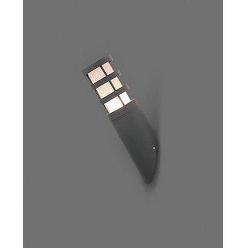 Lampy ścienne, Kinkiet Nowodvorski Norin I 4445 skośny zewnętrzny 1x20W E27 grafit IP44