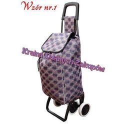 Wózek na zakupy,torba na kółkach do pchania 4 koła