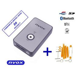 NVOX NV1080B BT BMW 12PIN Zmieniarka cyfrowa emulator MP3 USB SD BMW 12PIN BT