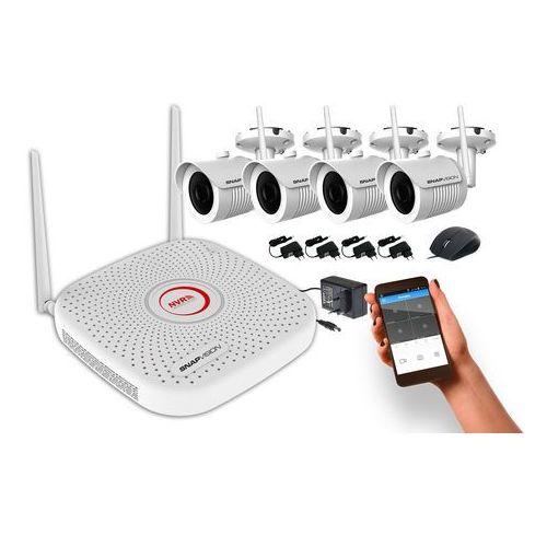 Kamery przemysłowe, SNAPVISION Easy Monitoring FULL HD [4KAM] 4CHwifi