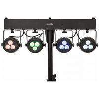 Zestawy i sprzęt DJ, Eurolite KLS-120 - kompaktowy zestaw oświetleniowy LED Płacąc przelewem przesyłka gratis!
