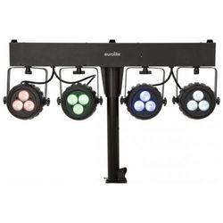 Eurolite KLS-120 - kompaktowy zestaw oświetleniowy LED Płacąc przelewem przesyłka gratis!