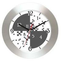 Zegary, Zegar ścienny aluminiowy cyferki #3