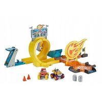 Pozostałe zabawki, Fisher Price - BLAZE Tor kaskaderski + 3 Autka