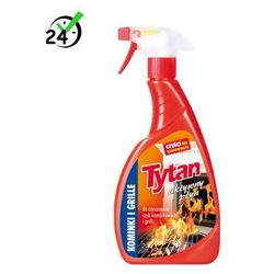 Tytan aktywny płyn do czyszczenia szyb kominkowych i grillów (500g) #BLACK WEEK #ZWROT 30DNI #GWARANCJA D2D #KARTA 0ZŁ #POBRANIE 0ZŁ #LEASING #RATY 0% #WEJDŹ I KUP NAJTANIEJ