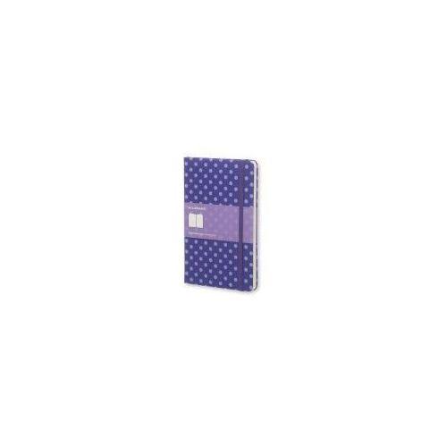 Notesy, Notes Moleskine specjalna edycja L Pois w linie w fioletowej oprawie w groszki 13x21cm (MOAKTGQP060POIS)