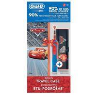 Szczoteczki do zębów, Szczoteczka rotacyjna ORAL-B Kids D12 Cars + TC