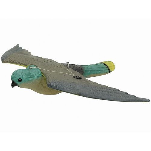 Środki na szkodniki, Odstraszacz ptaków - sztuczny sokół, jastrząb. Odstraszacz na ptaki.