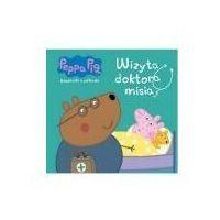 Książki dla dzieci, Peppa pig. książeczki z półeczki nr wyd. 68. wizyta doktora misia (opr. broszurowa)