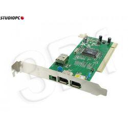 PCI kontroler FireWire 1394a (3+1) 4World