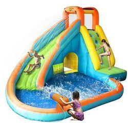 Dmuchana zjeżdżalnia wodna z basenem - HappyHop
