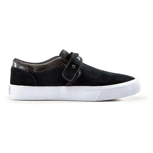 Damskie obuwie sportowe, buty SUPRA - Womens Cuba Black-White (BLK) rozmiar: 36