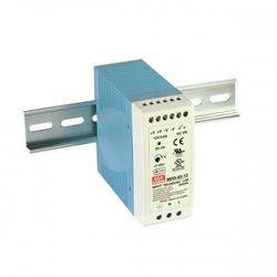 Zasilacz impulsowy na szynę DIN Uwe: 100-240V AC, Uwy: 12V DC, 12-15V DC, Iwy: 5A moc: 60W MDR-60-12