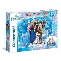 Puzzle, CLEMENTONI 40 EL. Podłogowe Frozen