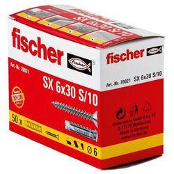 Kołek rozporowy Fischer 70021 SX, 6 x 30 mm, nylon, 50 szt