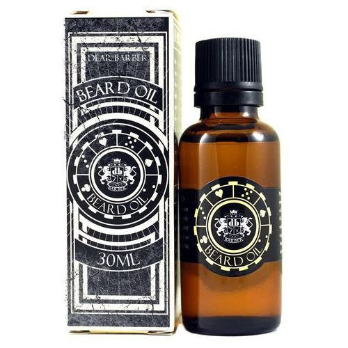Pielęgnacja brody i wąsów, Dear Barber Beard Oil - olejek do brody 30ml